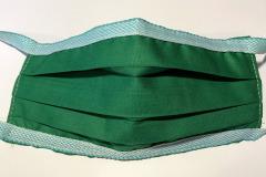 rúško-zelené
